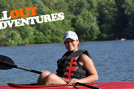 Allout Adventures - 90 minute kayaking or canoeing experience on the River Derwent with - Save 60%