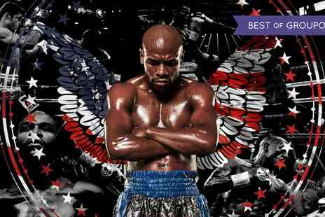 Steve Wraith - Floyd Mayweather The Undefeated Tour 2017 Standard Entry for One on Sunday 5 March - Save 30%
