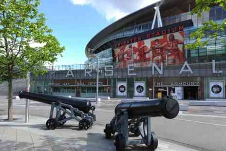 Buyagift - Emirates stadium tour for two adults including Arsenal Museum, certificate and branded headphones - Save 0%