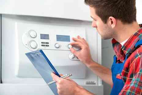 GS Plumbing - Full boiler service and gas safety inspection - Save 61%