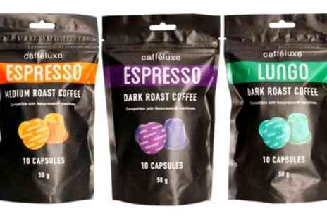 Groupon Goods Global GmbH - Caffe Luxe Nespresso Compatible Capsules - Save 37%