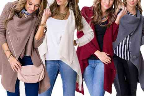 Groupon Goods Global GmbH - Multiway Wrapover Cardigans - Save 58%