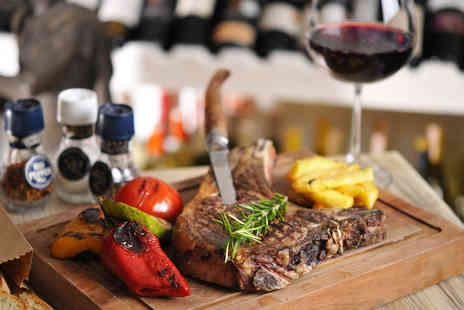 The Ainscow - Steak dining for two people with a glass of wine each - Save 41%