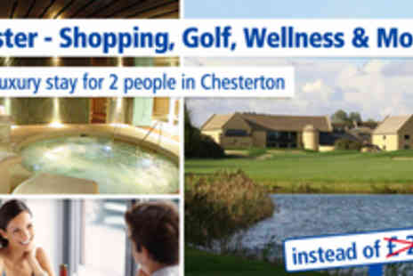 Bicester Hotel Golf & Spa - Short stay in Bicester for 2 people - Save 33%