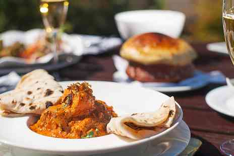 Vine & Spice - Highly Rated Indian Tasting Menu Meal for 2 with Bubbly - Save 0%