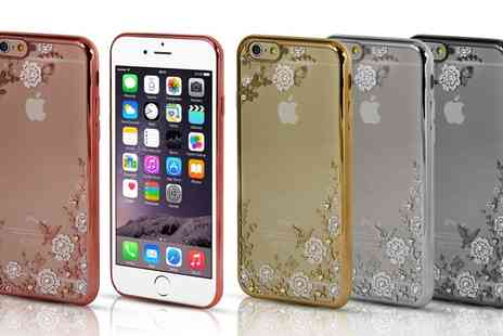 Groupon Goods Global GmbH - Diamonte TPU Case for iPhone 5, 5S, 6, 6S, 6Plus, 6S Plus With Free Delivery - Save 57%
