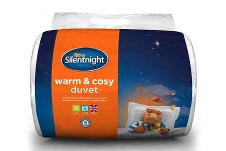 Groupon Goods Global GmbH - Silentnight Winter Warm Duvet 15 Tog in Choice of Size - Save 57%