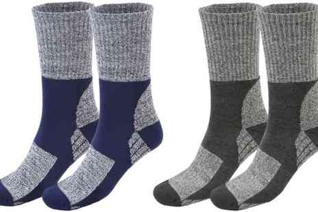 Groupon Goods Global GmbH - Trekking Socks With Free Delivery - Save 80%