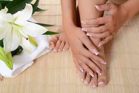 Nahids Beauty - Shellac Manicure or Pedicure, or Both - Save 0%