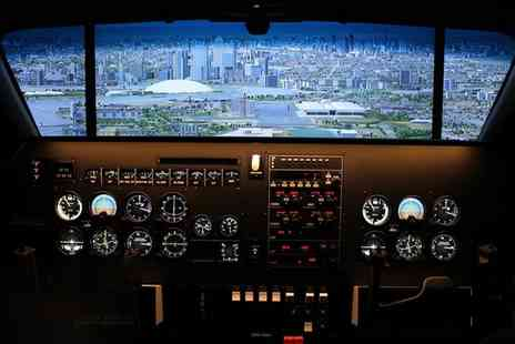 Icarus Simulation - 60 or 120 Minute Flight Simulator Experience for Up to Four - Save 41%
