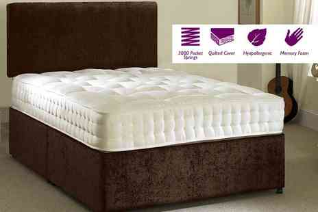 Midnight Dreams - Single, small double or double or king size pocket sprung mattress - Save 76%