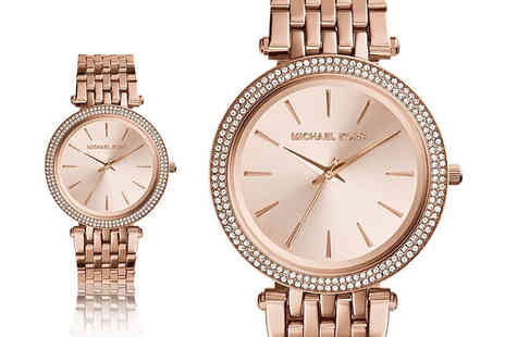 Gray Kingdom - Michael Kors womens Darci rose gold watch - Save 46%