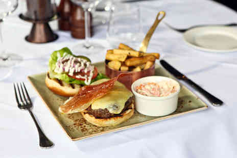 Marco Pierre White Steakhouse Bar & Grill - Two course dining for two with a glass of Prosseco each - Save 30%