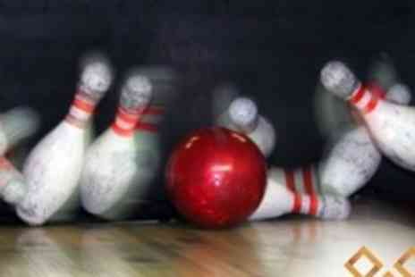 World Of Bowling - One Hour of Bowling For Up To Six Plus Pizza - Save 67%