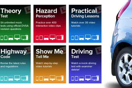 Focus Multimedia - The Complete Six in One Online Learner Driver Pack - Save 50%
