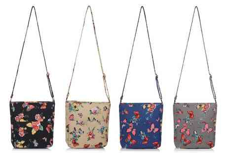 Groupon Goods Global GmbH - Pearl Fashion Butterfly Cross Body Bag - Save 69%