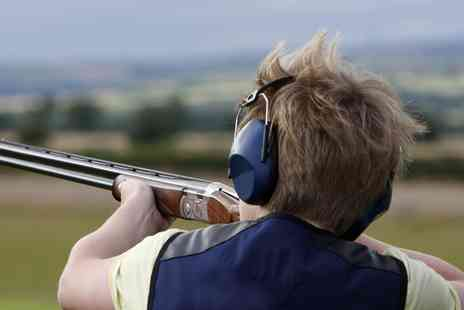 Nuthampstead Shooting Ground - Clay Pigeon Shooting Session for One, Two or Four - Save 0%