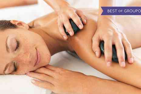 Peppermint Salon - Hot Stone Body Massage with Elemis Facial - Save 69%