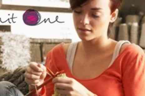Knit One - Two Hour Crochet or Knitting Taster Class Plus Starter Kit - Save 56%