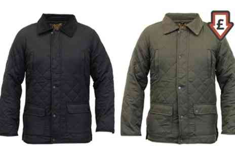 Groupon Goods Global GmbH - Mens Quilted Jacket - Save 0%