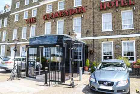The Clarendon Hotel - London Stay for Two with Breakfast and Option for Dinner - Save 30%
