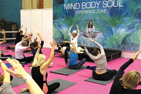 The OM Yoga Show - Two tickets to the Mind Body Soul Experience - Save 50%