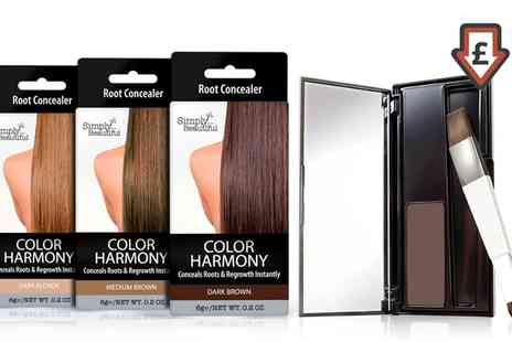 Groupon Goods Global GmbH - Simply Beautiful Colour Harmony Root Touch Up Concealer - Save 85%