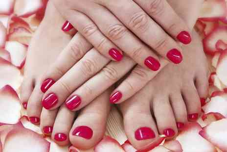 Changes Hair & Beauty - Shellac Fingernails or Toenails or Both - Save 0%
