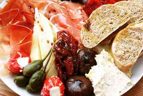 Bar Six - Antipasti Sharing Board with Glass of Prosecco For Two or Four - Save 44%