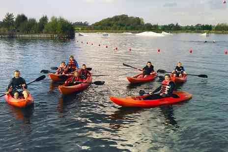 Blackpool Wake Park - One Hour Kayaking or Paddleboarding Session - Save 55%