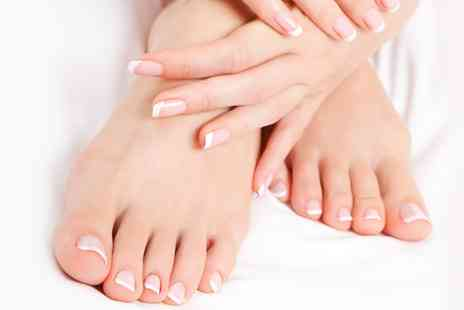 Made Up Beauty Nails Hair - Shellac Manicure, Pedicure or Both - Save 50%