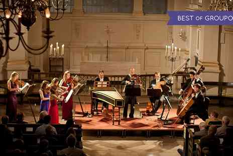 Candlelight Concerts - One ticket to see London Concertante perform Vivaldis Four Seasons by Candlelighton on 24 March 2017 - Save 43%