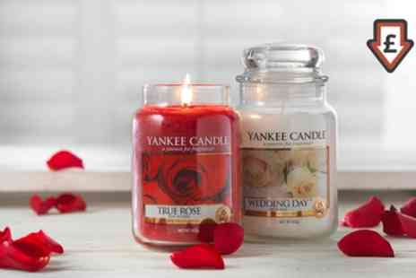 Groupon Goods Global GmbH - Yankee Candle Mothersday Large Candles - Save 46%