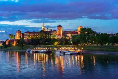 ClearSky Holidays - Two or three night 5 Star Krakow stay including flights - Save 44%