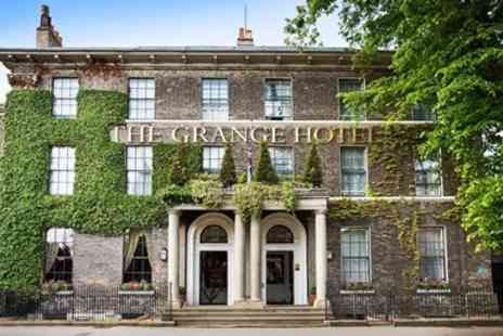 The Grange Hotel York - York Townhouse Stay with 3 Course Dinner - Save 44%