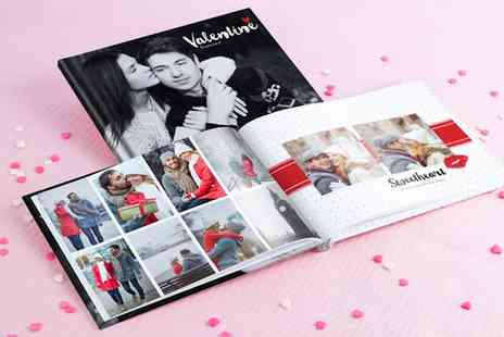 Photobook - Personalised Imagewrap Hardcover 40 Page Photobook - Save 87%