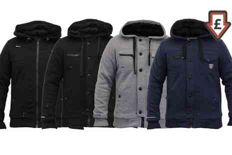 Groupon Goods Global GmbH - Mens Rawcraft Fur Lined Hooded Jackets - Save 0%