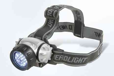 Groupon Goods Global GmbH - One,Two or Three 12 LED Headlamps - Save 67%