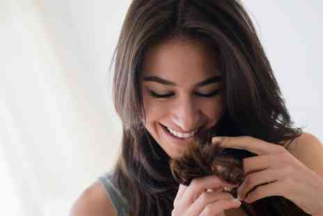 Hays Hair Co - Cut, Finish and Half Head Highlights with Optional Moroccanoil Treatment - Save 62%