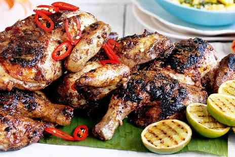 Jerk Shack - Six Course Caribbean Tasting Menu with a Bottle of Wine for Two or Four - Save 53%