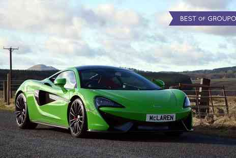 Experience Limits - McLaren 570 Driving Experience Three or Six Laps - Save 0%