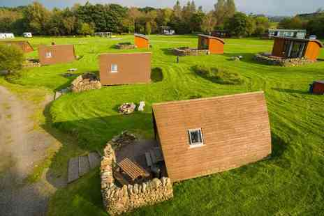 Barnsoul Caravan Park - Two night glamping stay for two in an Apex Pod - Save 34%