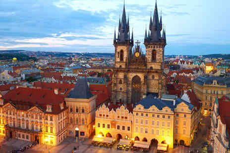 Red and Blue Design Hotel Prague - Four Star 4 nights Stay in an Executive Room - Save 79%