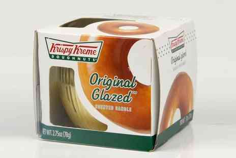 Groupon Goods Global GmbH - Four Piece Krispy Kreme Gift Packed Candles Set - Save 58%