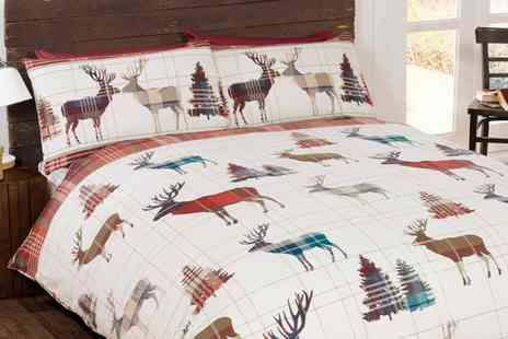 Groupon Goods Global GmbH - Clearance Flannelette Duvet Sets - Save 75%