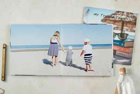 Photobook - Personalised Square Photobook - Save 85%