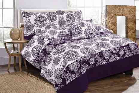 Groupon Goods Global GmbH - Megan Five Piece Bedding Set - Save 55%