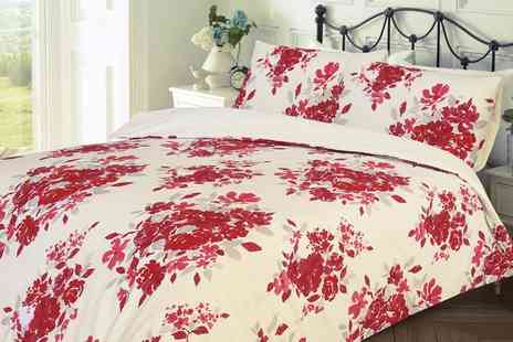 Groupon Goods Global GmbH - Florence Reversible Duvet Set - Save 63%