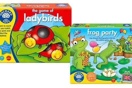 Groupon Goods Global GmbH - Orchard Toys Game of Ladybirds or Frog Party - Save 13%