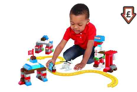 Groupon Goods Global GmbH - Mega Bloks Thomas Rescue Centre Heroes Play Set - Save 61%